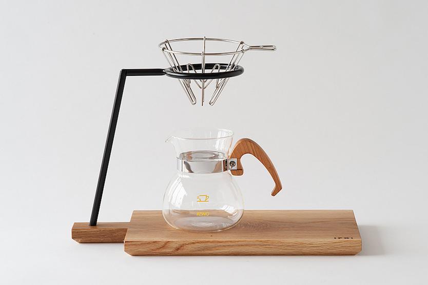 このコーヒードリッパーは、使わない時間も活躍できるのです