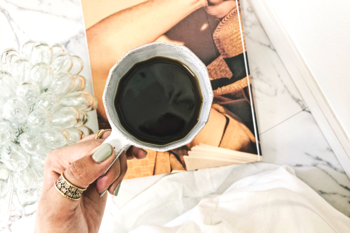 どんなに忙しい朝でも、コーヒーがなきゃはじまらない