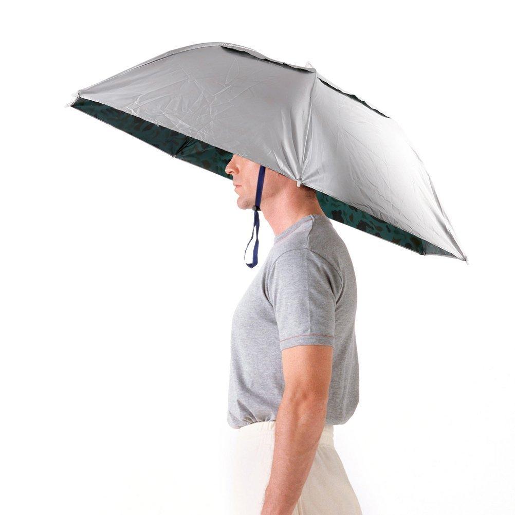手ぶらで使える傘、見つけました。