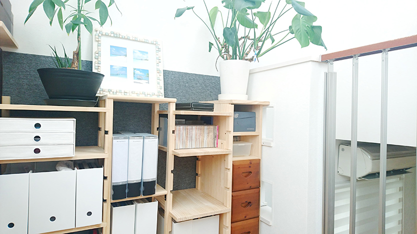 DIYした書斎