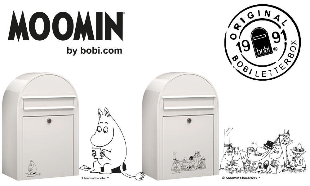 大人気のムーミンが郵便ポストになったよ!これはアガる〜