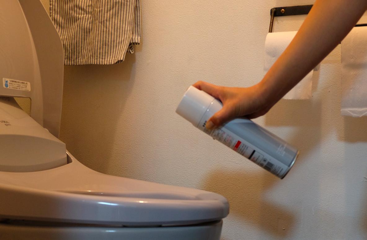 アスクルのエステー トイレの消臭スプレー