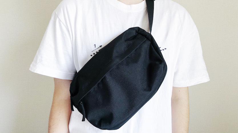 四次元ポケット並みの収納力…無印のカバンがあればいつでも身軽だな〜|マイ定番スタイル
