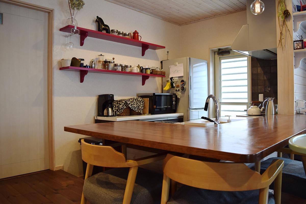 スッキリ収納でオープンな「キッチン」に、家族が集まる|わたしの部屋