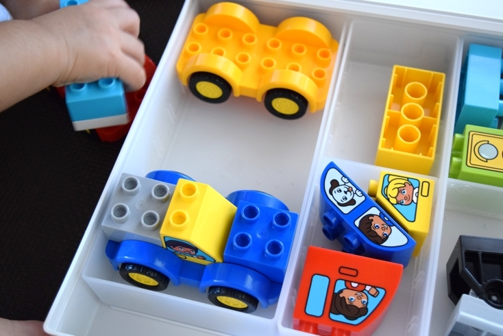 無印良品の折りたためるおもちゃ収納ケース