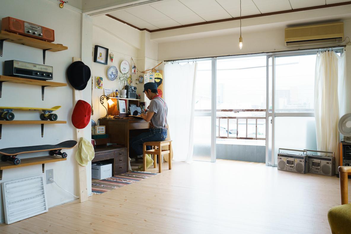イラストレーターの部屋