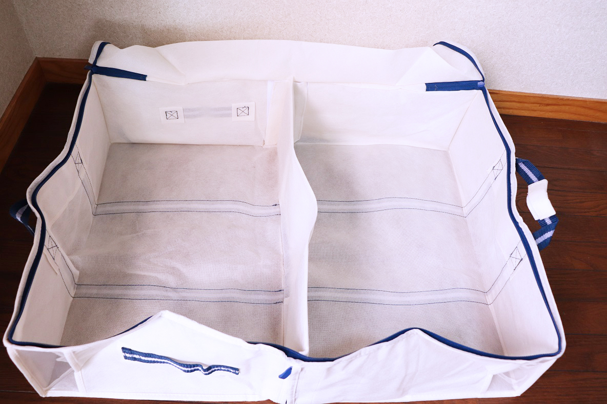 収納 ニトリ 布団 袋