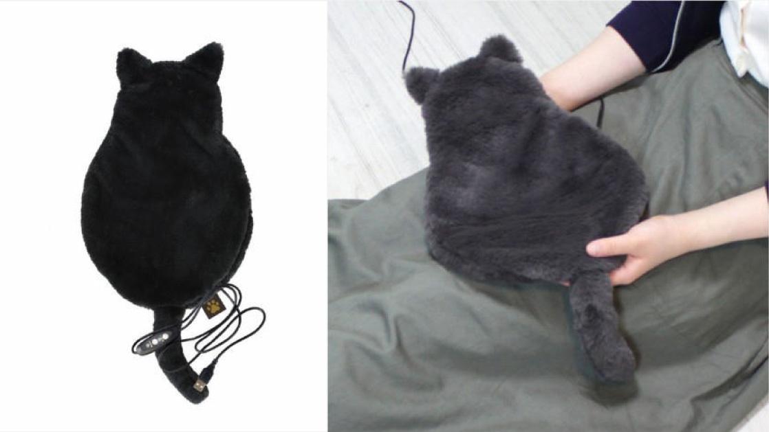 これがあれば、いつでもどこでも「猫に膝を独占されて動けないよ〜」の夢を叶えられるな…