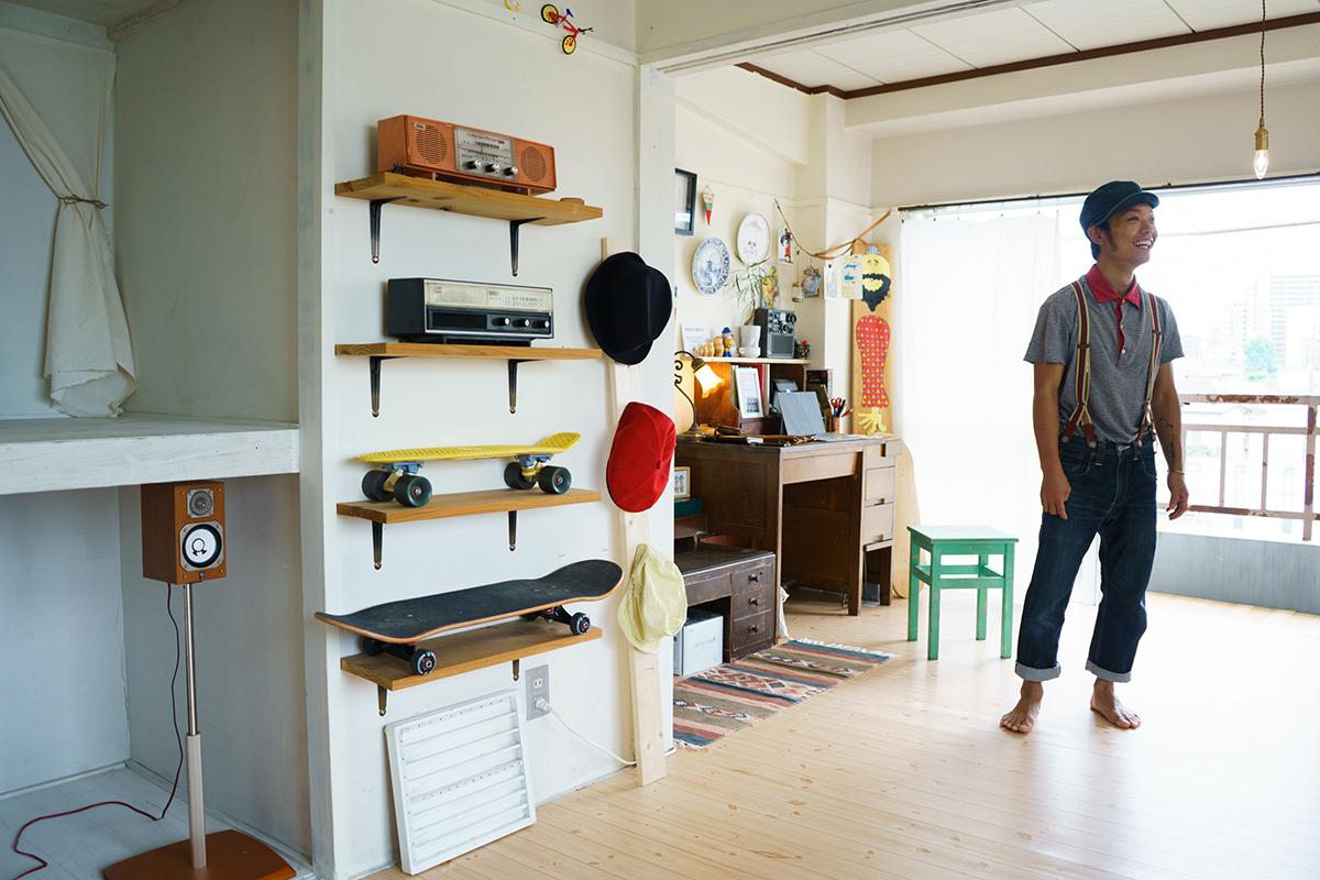 古道具好きのイラストレーターは、植物みたいに暮らしたい(八王子)|みんなの部屋
