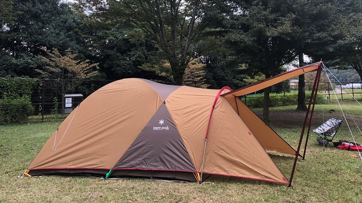 スノーピークの定番テントが、キャンプ初心者にうれしい理由… マイ定番スタイル
