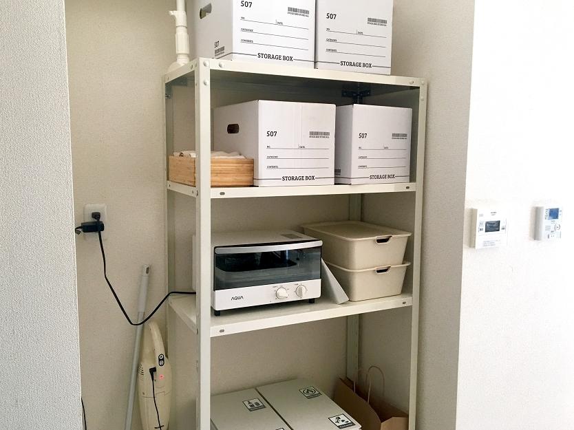 掃除用品をスッキリ収納する、理想の「キッチンラック」|わたしの部屋