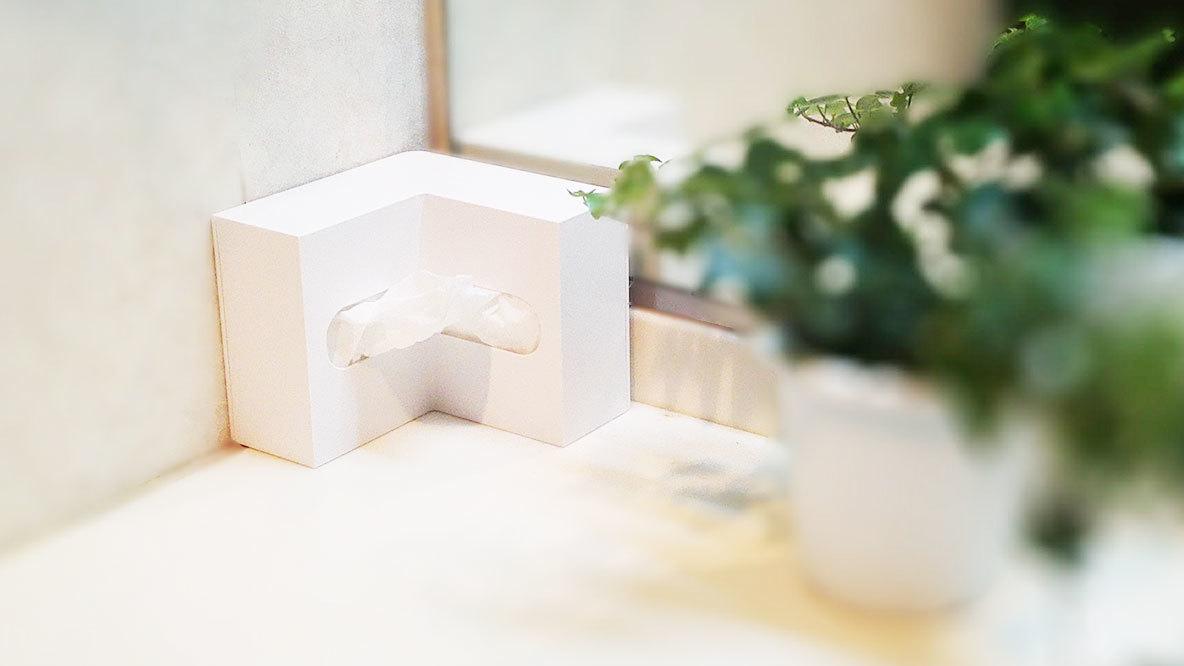 狭い洗面所やキッチンでもスッキリ置ける収納ボックスが便利だぞ!|KIDS ROOMIE