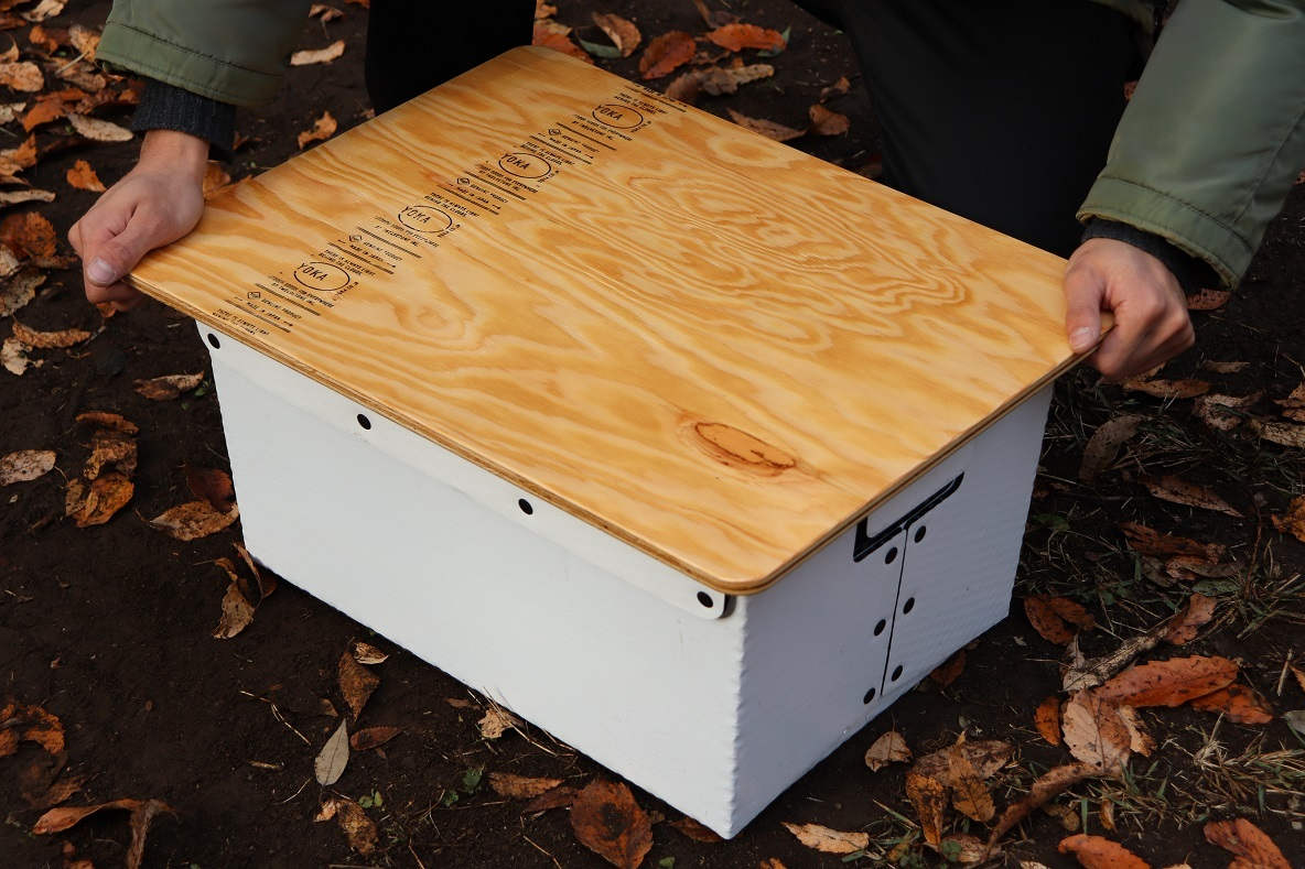 収納力もデザインも最高…!話題のYOKAテーブルをアウトドアで組み立ててみたよ〜│マイ定番スタイル