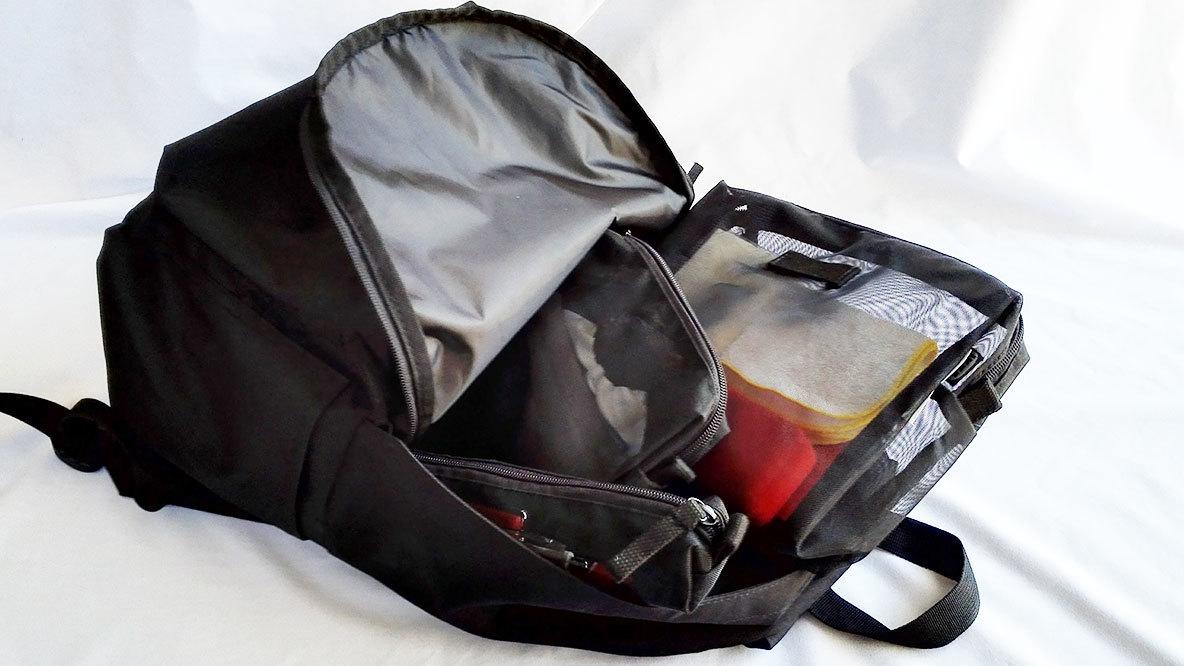 無印リュック×イケアの100gバッグインバッグ、最強身軽装備なのでは?|マイ定番スタイル