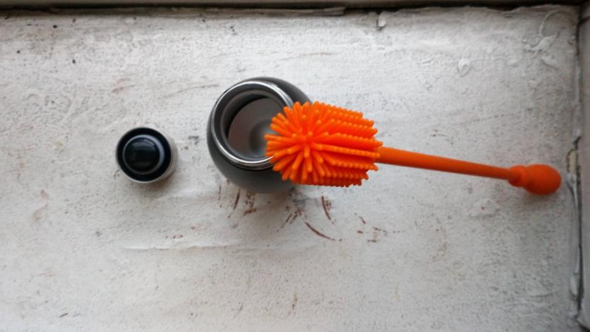 ボトル洗いにくい問題、この可愛いウニウニステッキが解決してくれたよ!|マイ定番スタイル