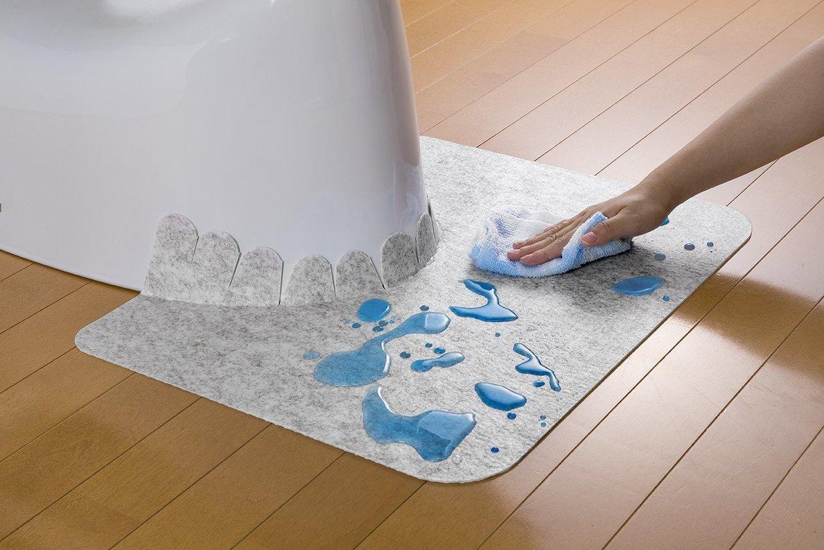 床 トイレ 掃除 の