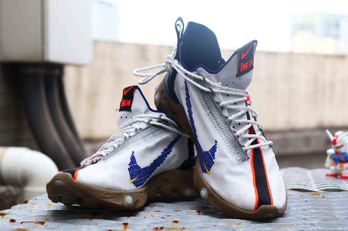 Nike ISPA REACTを「その靴、ガンダムみたいだな」と言われて気づいたこと│エディター私物