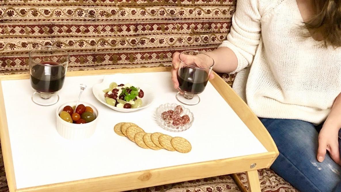 """イケアの""""なんちゃってサイドテーブル""""が、最高の休日体験をとどけてくれたんだ…! マイ定番スタイル"""