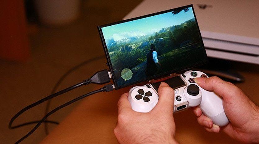 PS4を遊ぶのにTVってもういらないのね〜