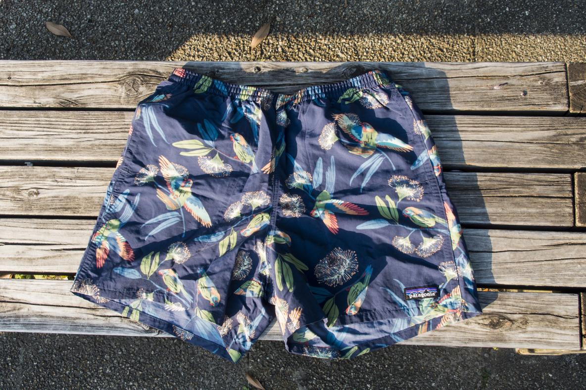 59994297e2652 Patagoniaの夏の定番、バギーズ・ショーツは水陸両用で超イージー! そのまま海に入っちゃおう | 身軽スタイル