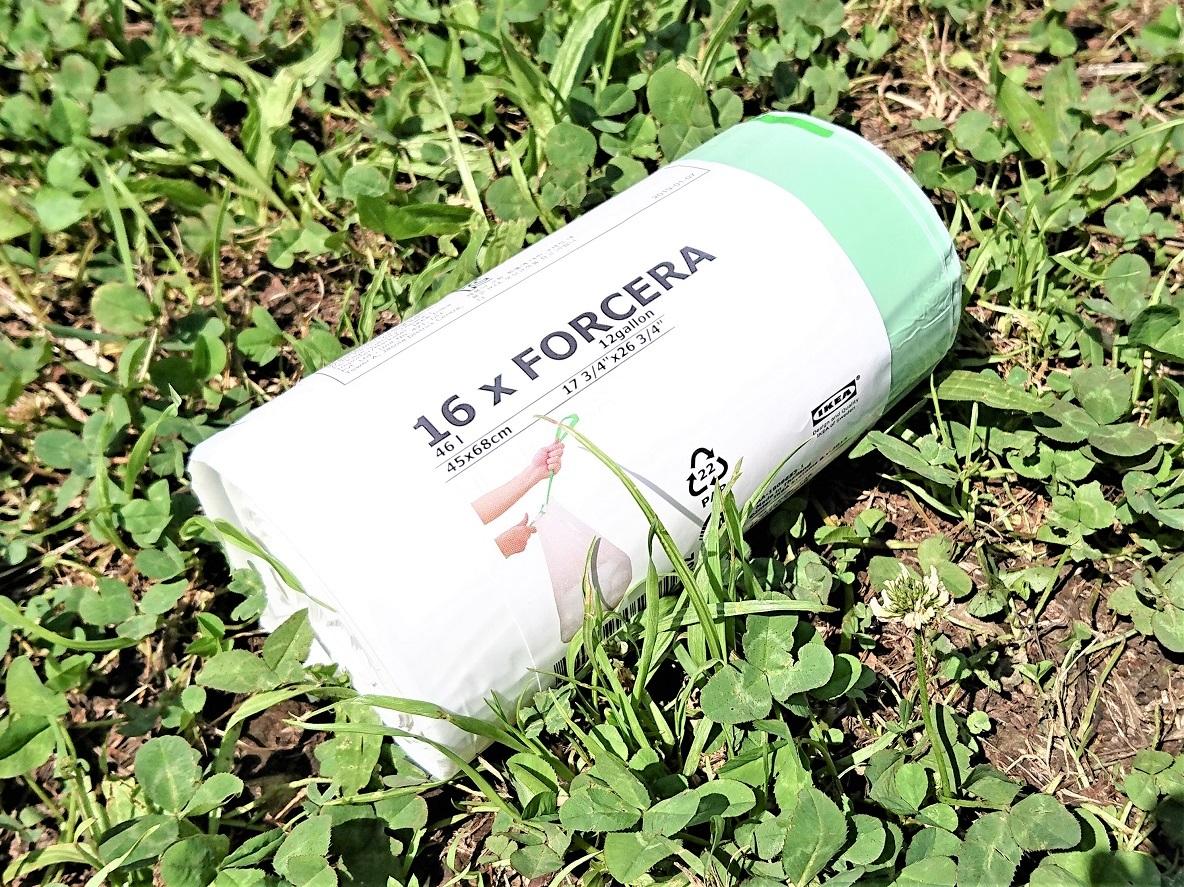 これはハイスペックなゴミ袋! イケアの紐付きポリ袋でゴミ捨てが快適になったよ | マイ定番スタイル