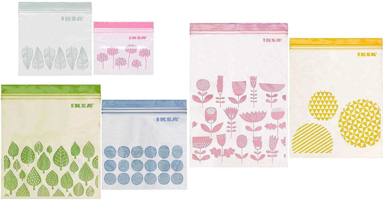 こちらもオススメ:IKEA ISTAD/イースタード プラスチック袋