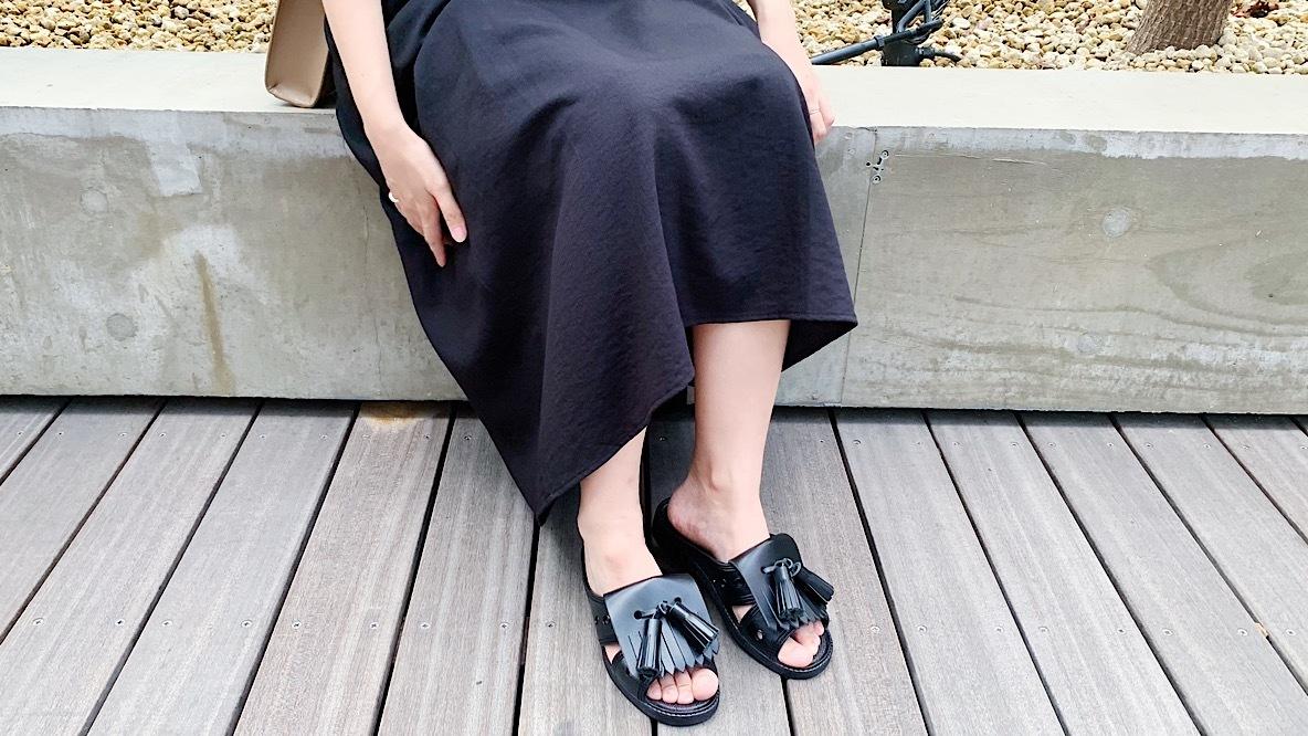 夏の身軽な外出に「便所サンダル」という選択|身軽スタイル