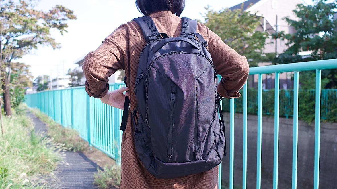 F/CE.のバックパックは大容量なのに軽量! 長時間背負っても疲れ知らずなんだよね〜|マイ定番スタイル