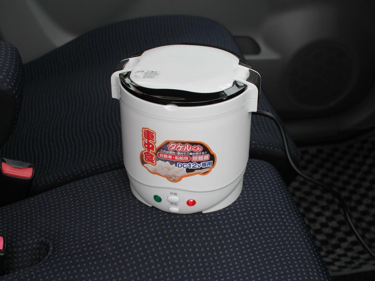 車中泊のクオリティを爆上げする炊飯器「タケルくん」を発見 ...