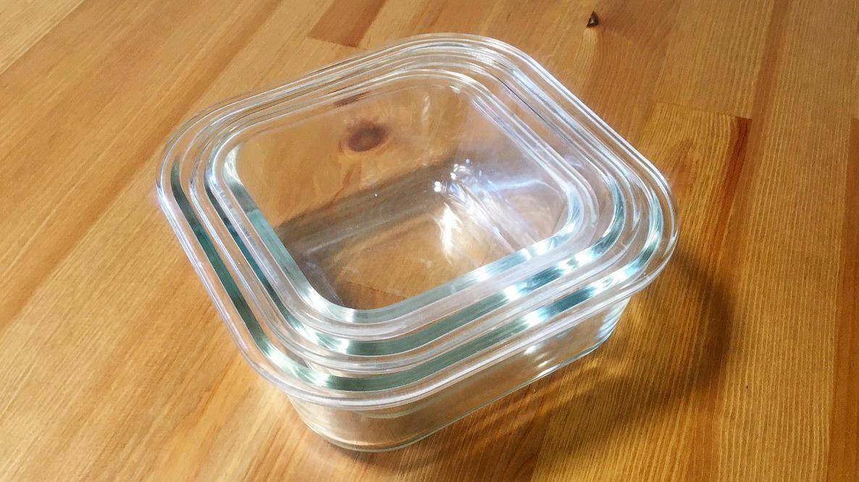 100円ショップのガラス容器が、共働きな我が家のキッチンで大活躍中! 時短料理にて最強だよ…│マイ定番スタイル