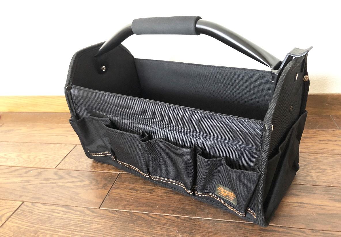 カインズホームの「収納バッグ」で、リビングやアウトドアの小物をスッキリ収納!10個のポケットが便利なのよ〜|マイ定番スタイル