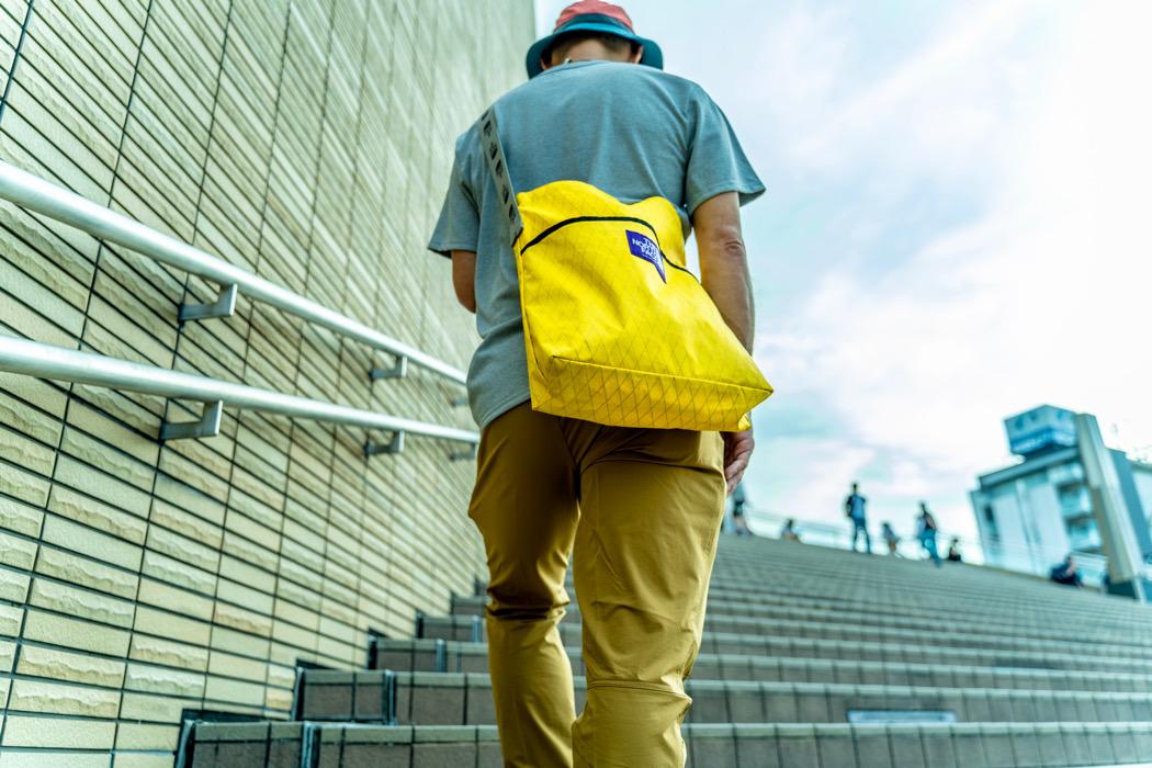 THE NORTH FACEの撥水バッグ、アウトドア好きの定番「X-PAC」素材で強度もバツグンよ|マイ定番スタイル