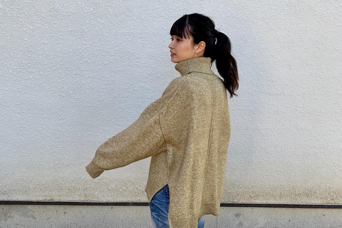H&Mのウールセーターが最高なシルエット!この絶妙なオーバーサイズ感がチルいな〜 | マイ定番スタイル