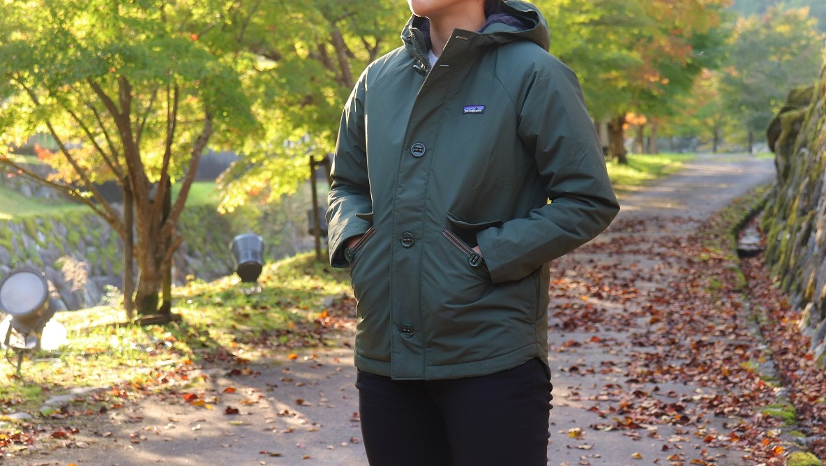 patagoniaのキッズジャケットはまさかの着心地!大人女子でも着れるサイズ展開だよ〜|マイ定番スタイル