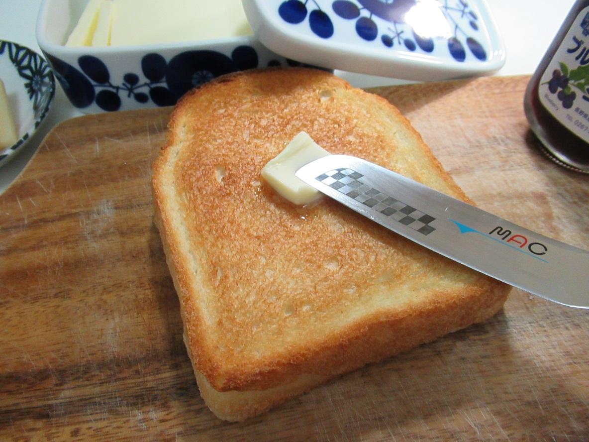 1本で3役のバターナイフを使い始めたら毎朝のパン活が快適になったよ〜! | マイ定番スタイル