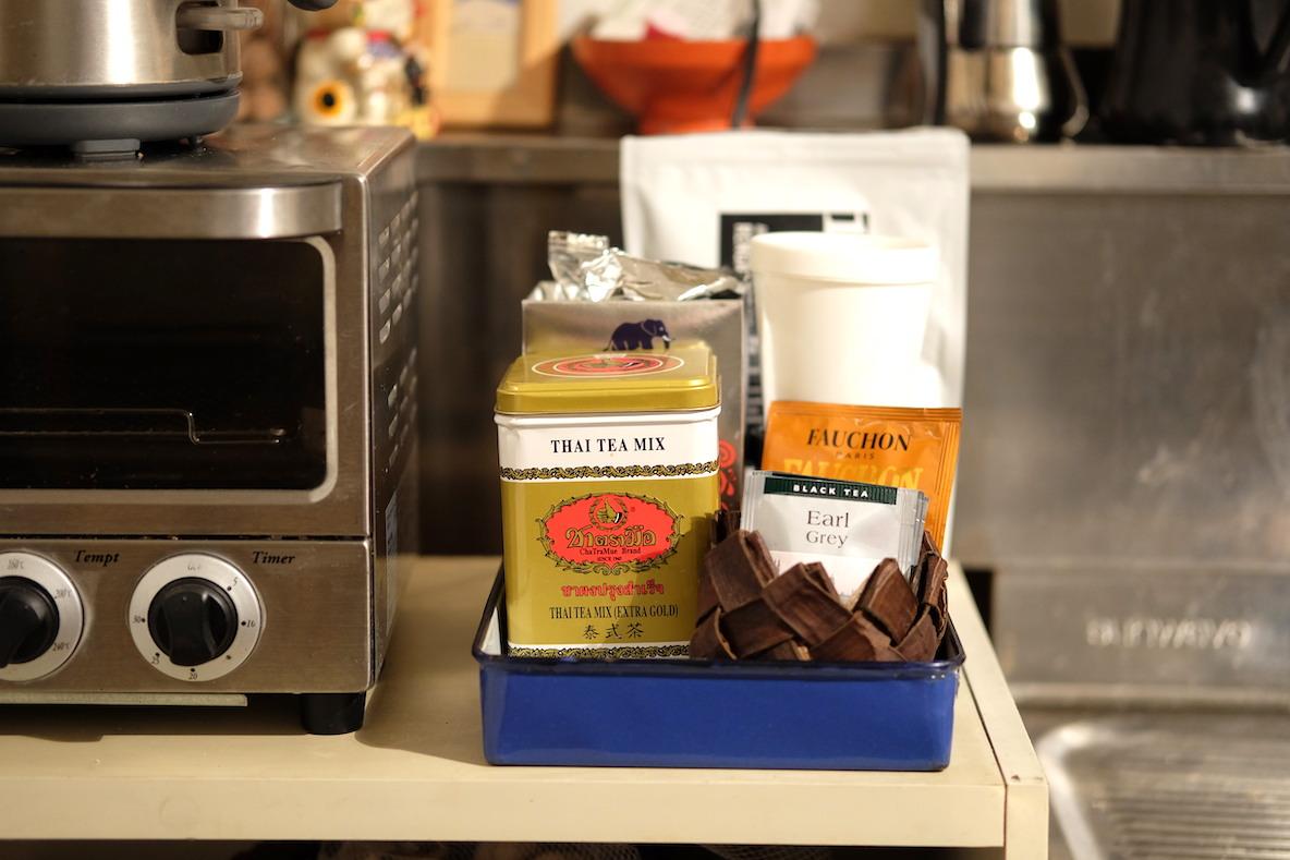 お茶やコーヒーなどのドリンク類 Before