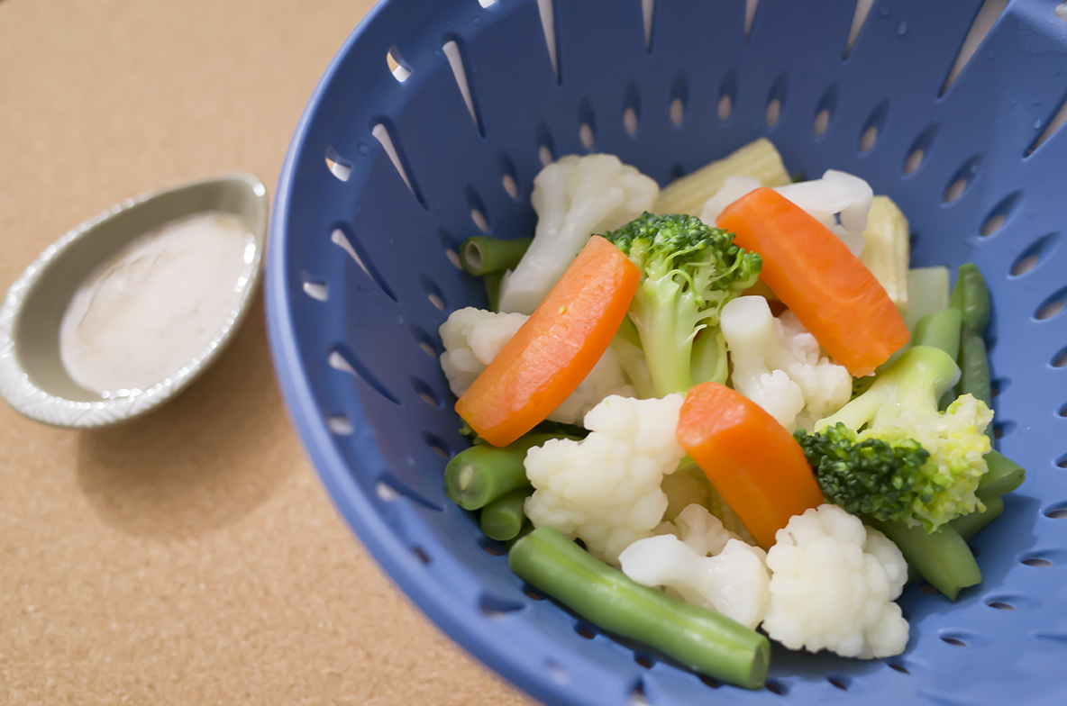 温野菜も簡単にできちゃう