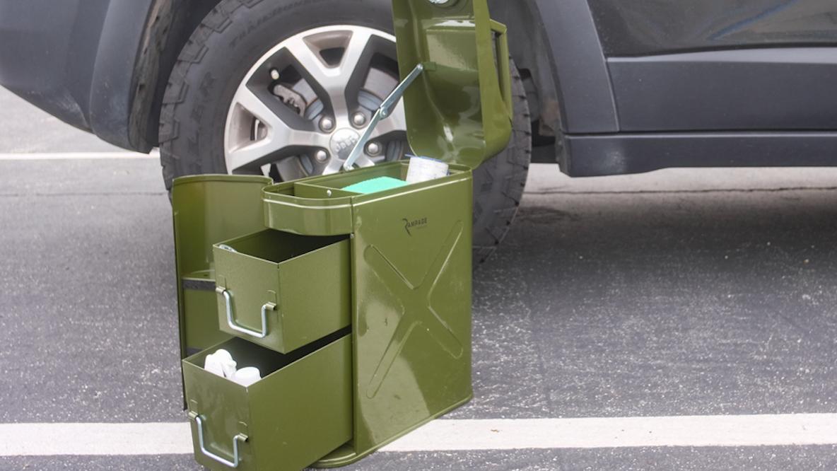 RAMPAGEのUTILITY TOOL BOX