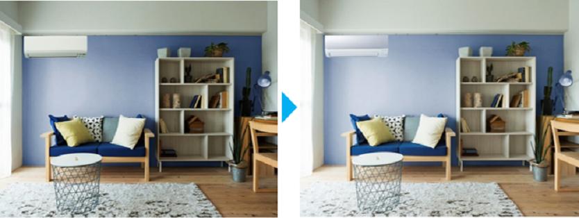エアコンとインテリアをマッチさせる3つの方法を、部屋づくりのプロが教えてくれたよ