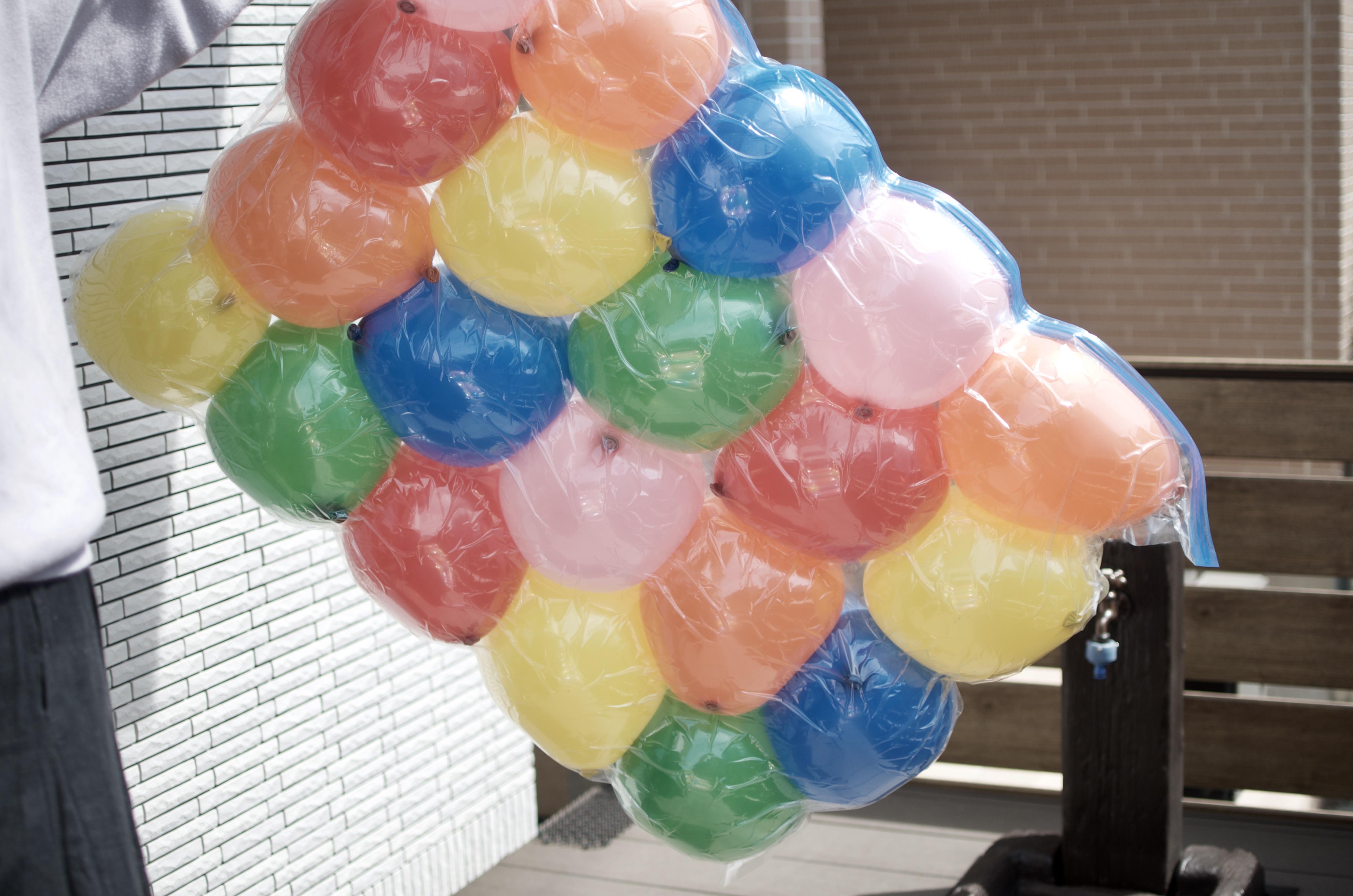 圧縮 風船 布団 袋 DAISOの布団圧縮袋と風船でバルーンマットを作ってみた