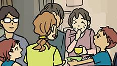 マンガ『あたらしいくらし』〜娘家族と母の近居割〜