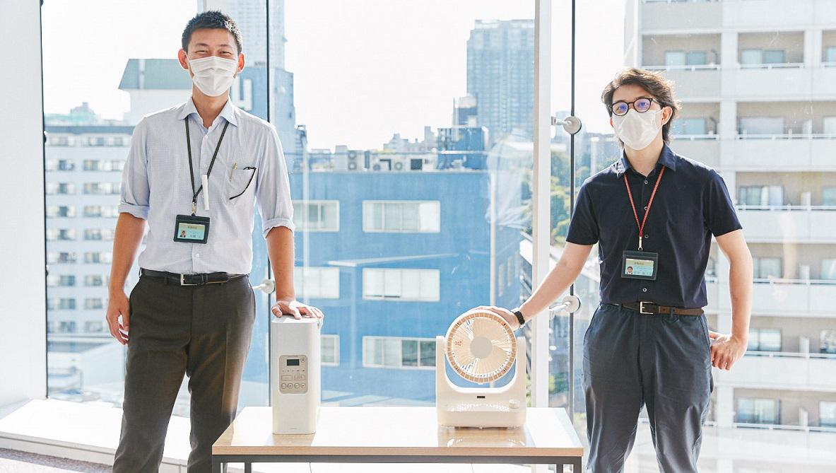 ドウシシャが今年の梅雨対策に選ぶ2台の家電は、ウイルス対策にも配慮したスグレモノたちでした