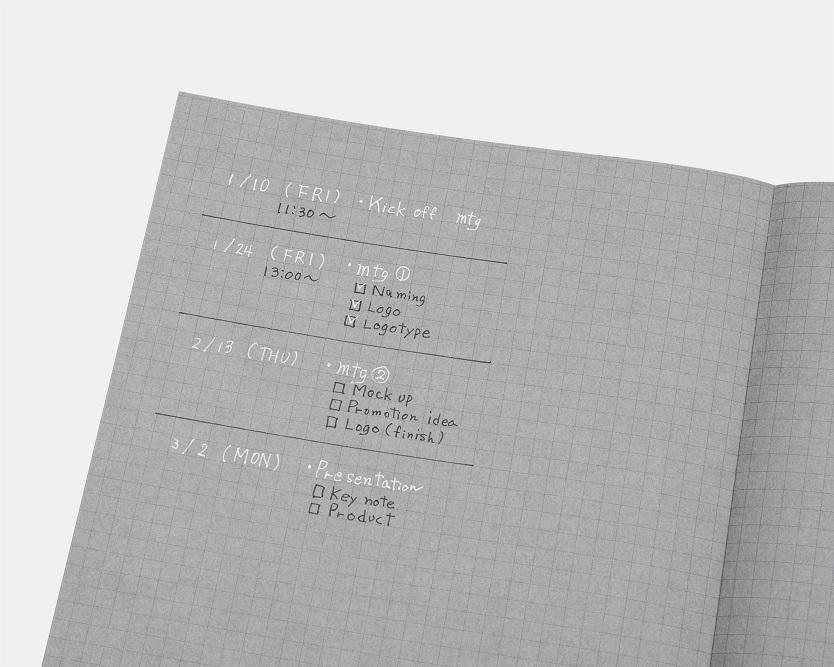 コクヨ 白と黒で書くノート