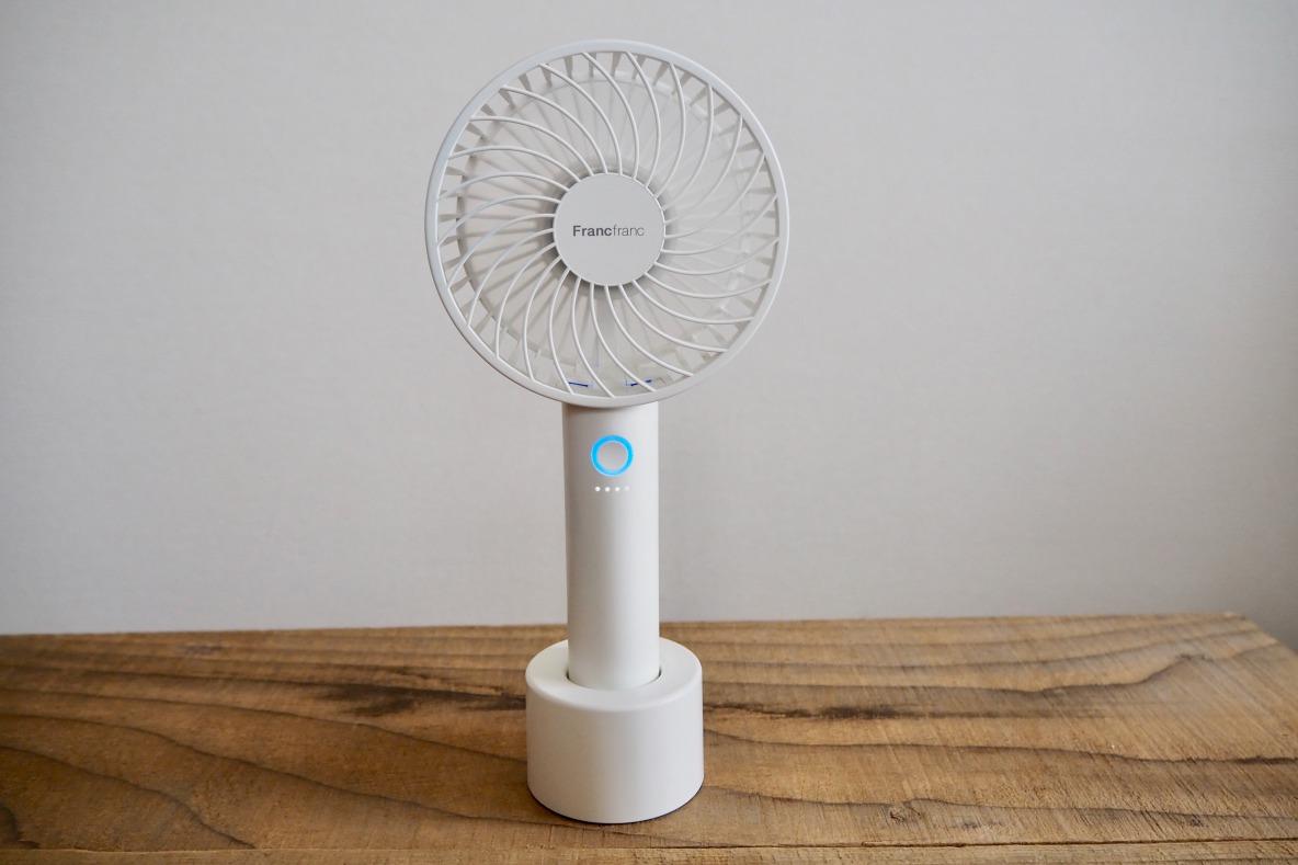フラン 扇風機 充電 フラン