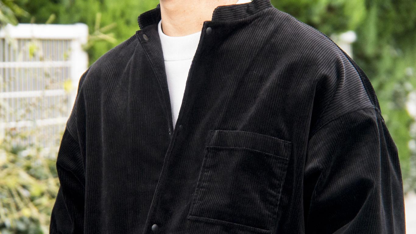 MUJI Laboの新作コーデュロイジャケット、このスタンドカラーのスッキリ感がたまらないぞ | ROOMIE(ルーミー)