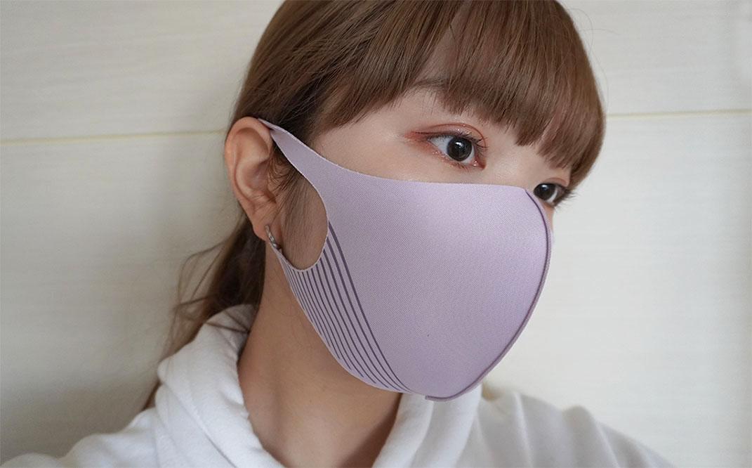 マスク ラベンダー ピッタ KATEの「小顔シルエットマスク」とピッタマスクで小顔比較してみたよ