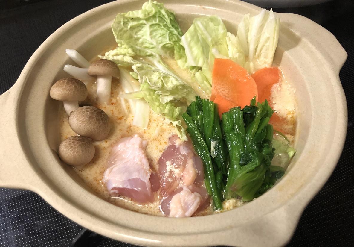 カルディの「豆漿鍋」