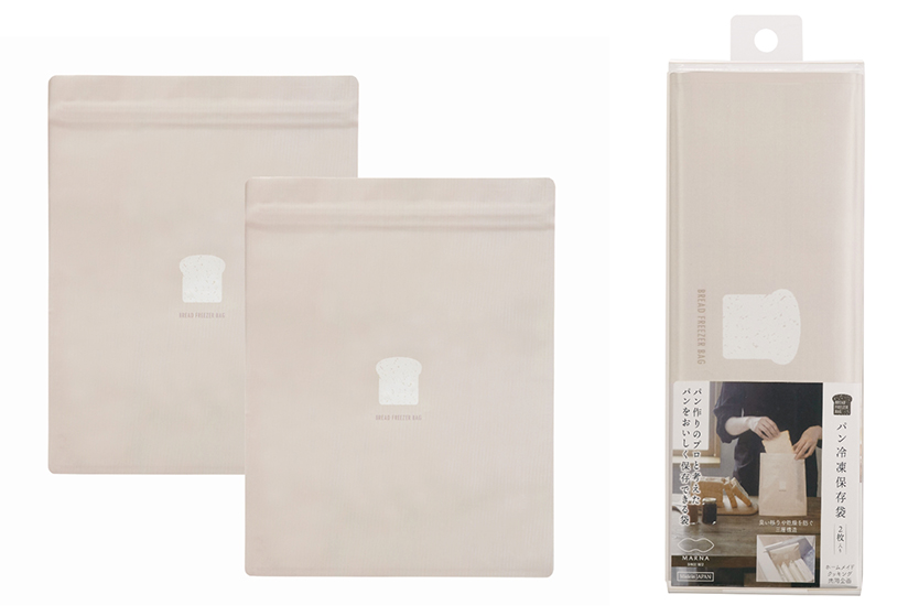 パン冷凍保存袋