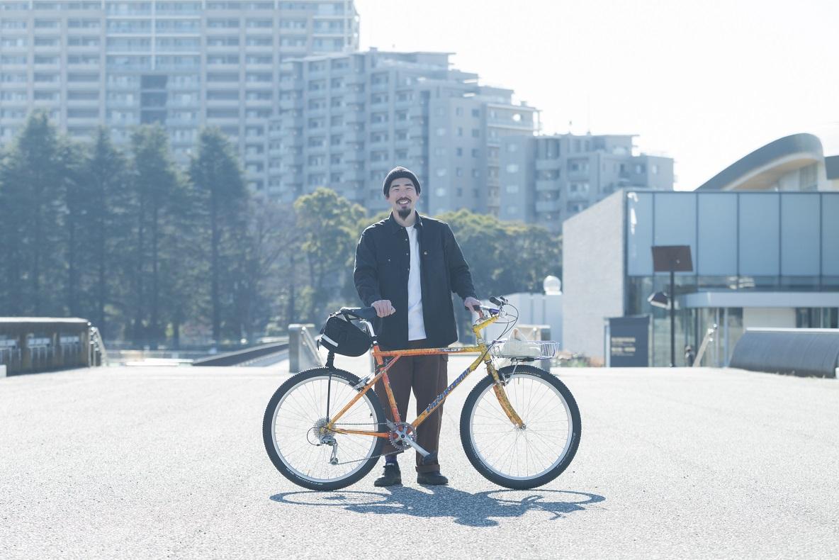 木村さんと自転車