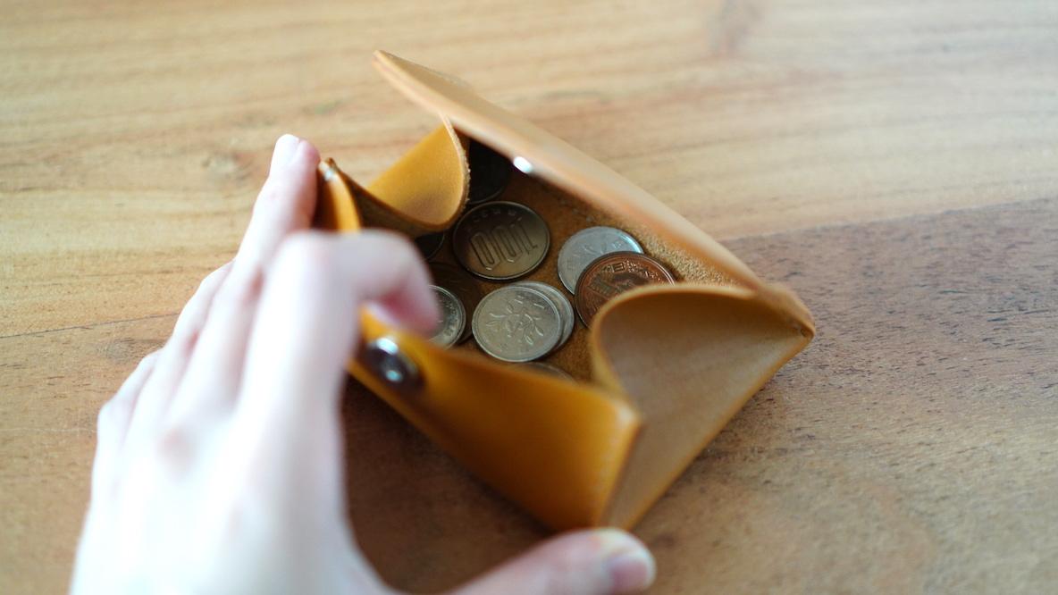 make U Coin Case キャメル SEIWA